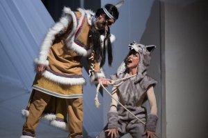 Премьера мюзикла «Белый клык» в театре «Зазеркалье»