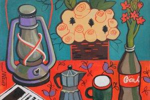 Выставка живописных работ Марины Горькаевой «Цвет(ы)»