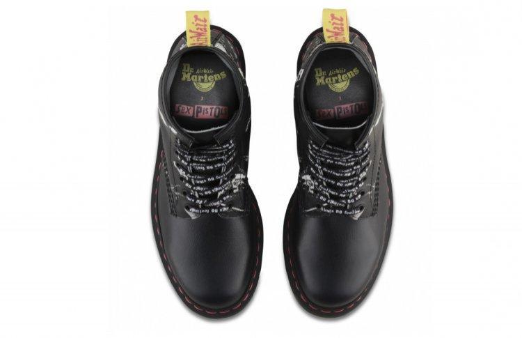 Dr.Martens x Sex Pistols выпустили совместную коллекцию обуви