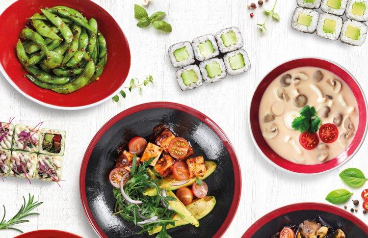 Сезон грибов в «Тануки»: японская и паназиатская еда в постном меню от концептуального бренд-шефа