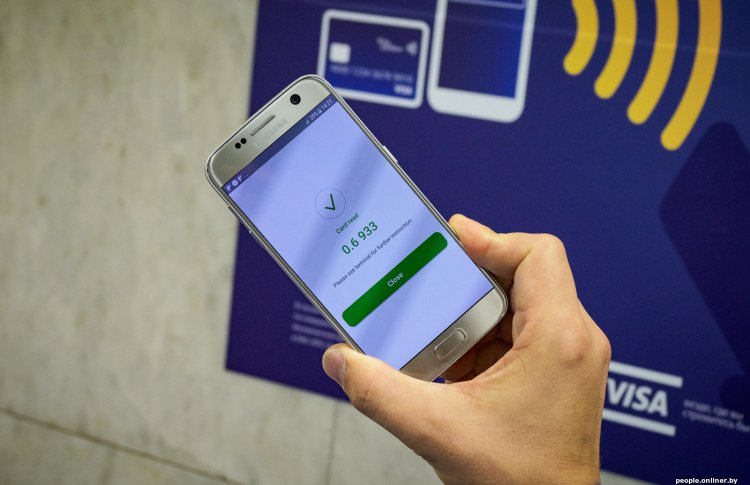 Все станции московского метро оснащены терминалами бесконтактной оплаты