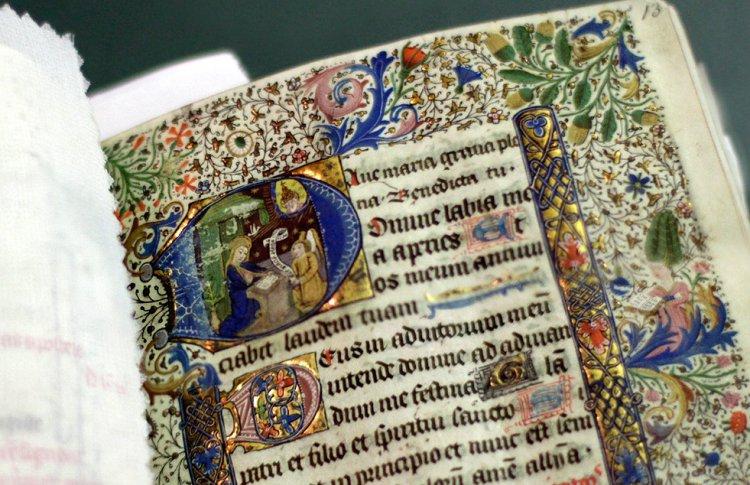Краски европейских манускриптов