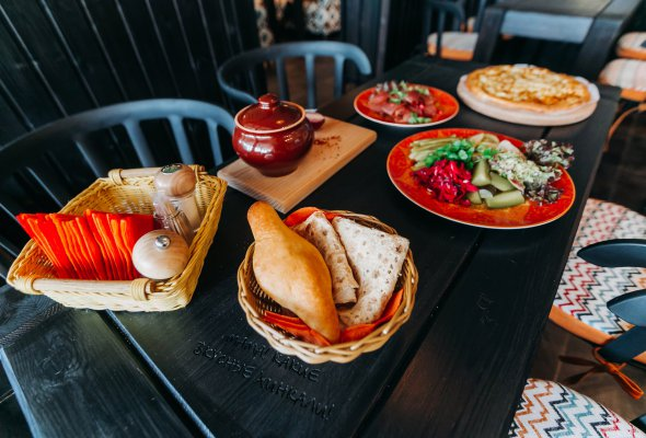 Ресторан «Пхали-Хинкали» на Ветеранов - Фото №1