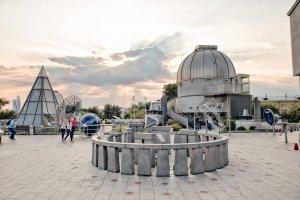 Московский планетарий готовит к открытию Парк неба