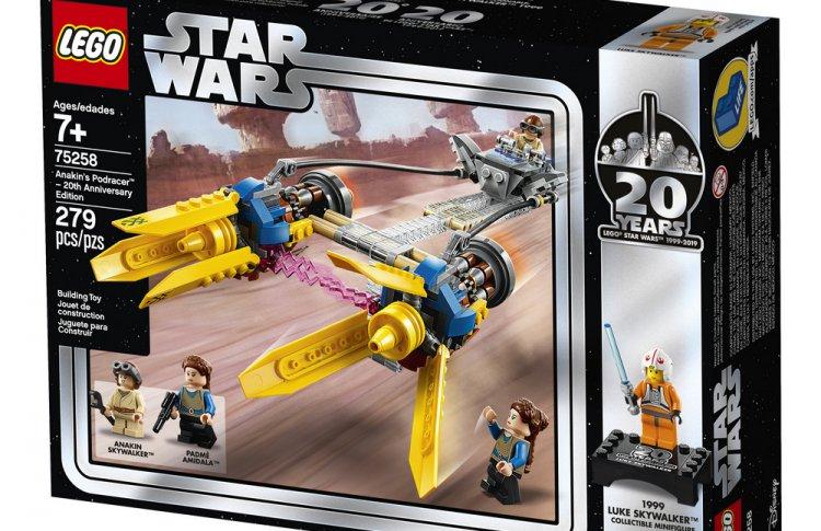 LEGO Star Wars отмечает 20-летие
