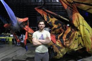 Патрик Остин, кукловод в шоу «ТОРУК – Первый полет» Cirque du Soleil: к куклам мы относимся как к друзьям или членам семьи