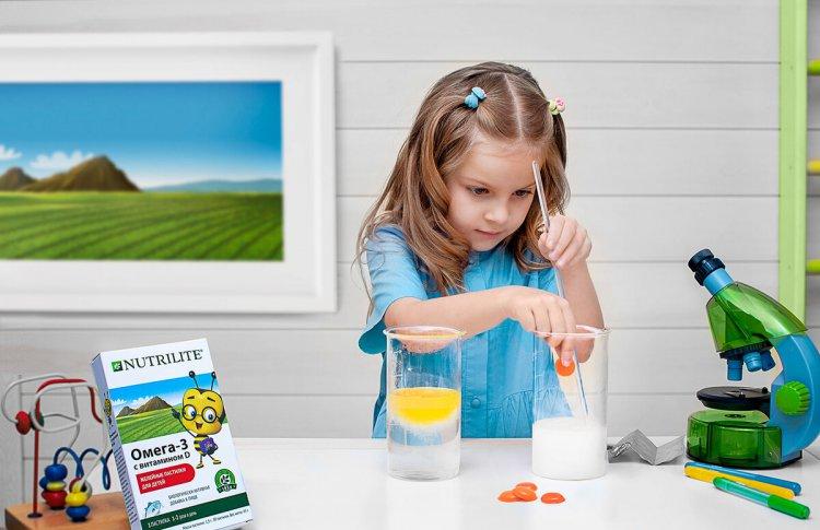 Полезная новинка от Nutrilite: желейные пастилки для детей  Омега-3 с витамином D