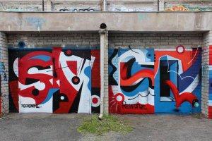 Выставка художников уличного авангарда «Баннерет»