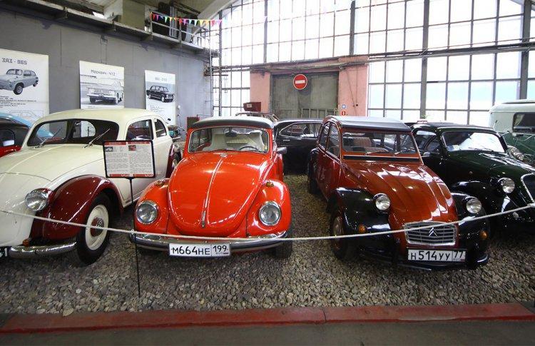 В Музее московского транспорта можно бесплатно посмотреть на «Захара»