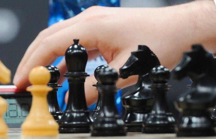 На станции «Воробьевы горы» открыли выставку шахмат