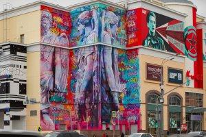В «Атриуме» начнут вторую волну граффити-росписи