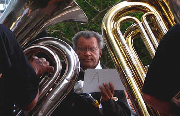 Anthony Braxton Diamond Curtain Wall Quartet
