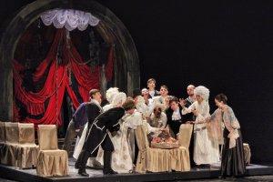 Премьера в театре «Зазеркалье»: опера «Евгений Онегин»