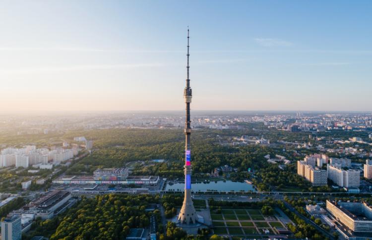 В Останкинской башне начала работу летняя обсерватория
