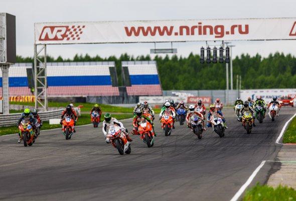 Мотогонки открыли сезон чемпионата RSBK на «Нижегородском кольце» - Фото №0
