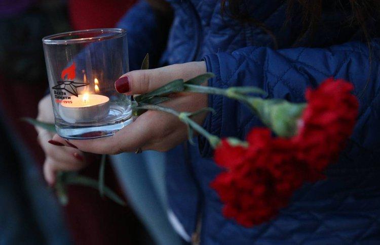 Перед Музеем Победы зажгут 1418 свечей 22 июня