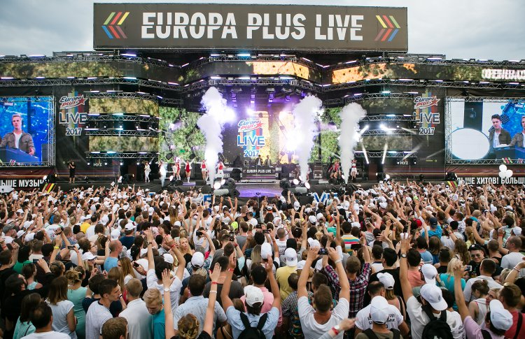 5 причин пойти на Europa Plus Live