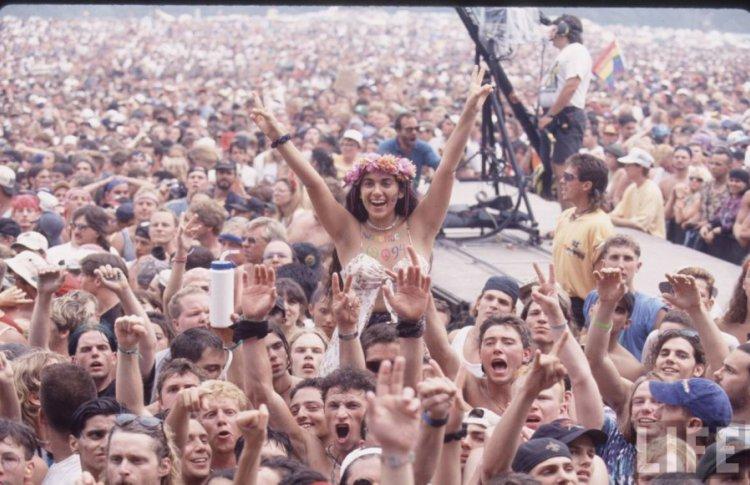 В США отменили фестиваль «Вудсток-50»