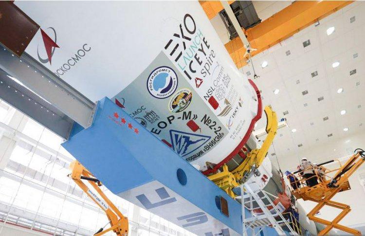 Спутник «ВДНХ-80» поздравил Выставку с юбилеем