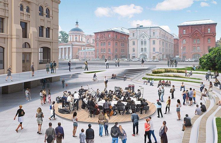 Парк-амфитеатр откроют в Москве в День города