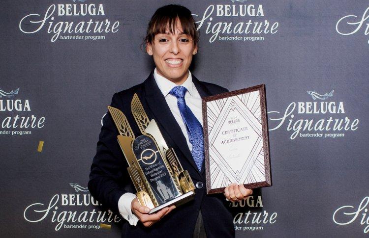 Лучия Монтанелли cтала победительницей международной барменской программы Beluga Signature 2019