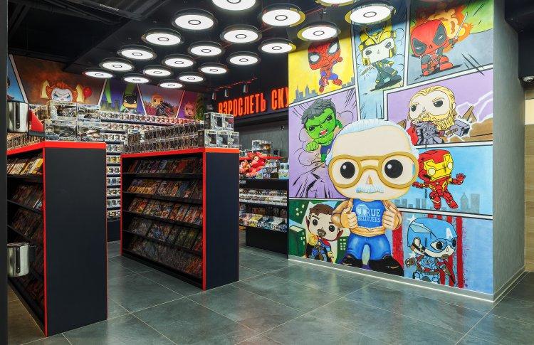 КАРО откроет комикс-корнеры в 5 своих кинотеатрах