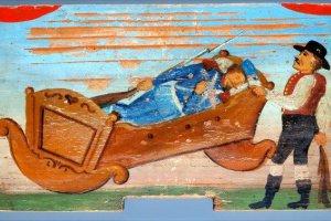 Выставка «Раскрашенные улейный панели — волшебство святого и мирского»