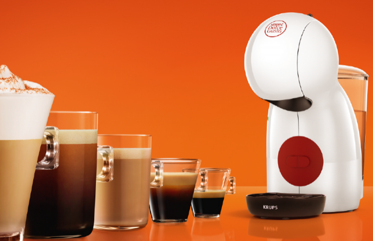 Погрузитесь в творческие эксперименты вместе с новой компактной  капсульной кофемашиной PICCOLO XS от NESCAFÉ Dolce Gusto
