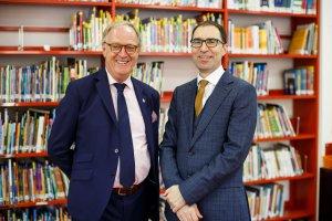 Чарли Кинг и Дэвид Роуз / Brookes Education Group о новой школе и эксклюзивном образовании в Санкт-Петербурге