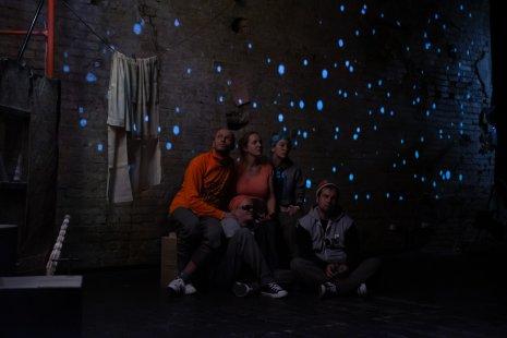 Премьера спектакля «Зимы не будет!» в Социально-художественном театре