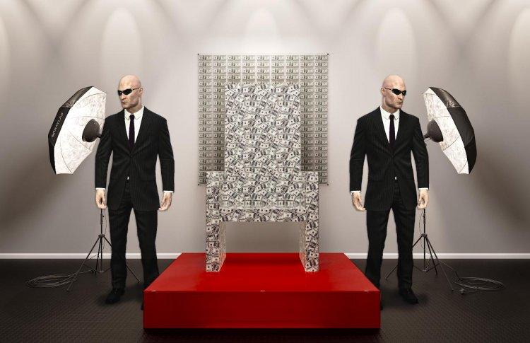 В России поставят стеклянный трон с миллионом долларов внутри