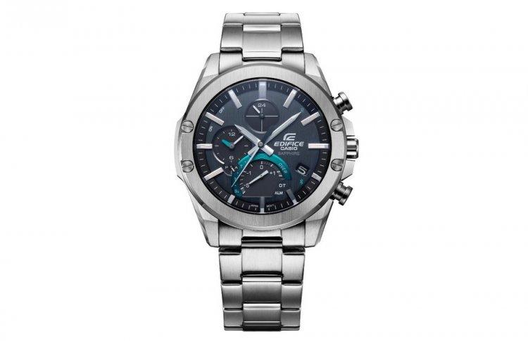 Компания Casio выпускает часы EDIFICE с новым многофункциональным механизмом в тонком элегантном корпусе
