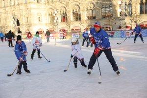 Мастер-класс по хоккею Алексея Яшина