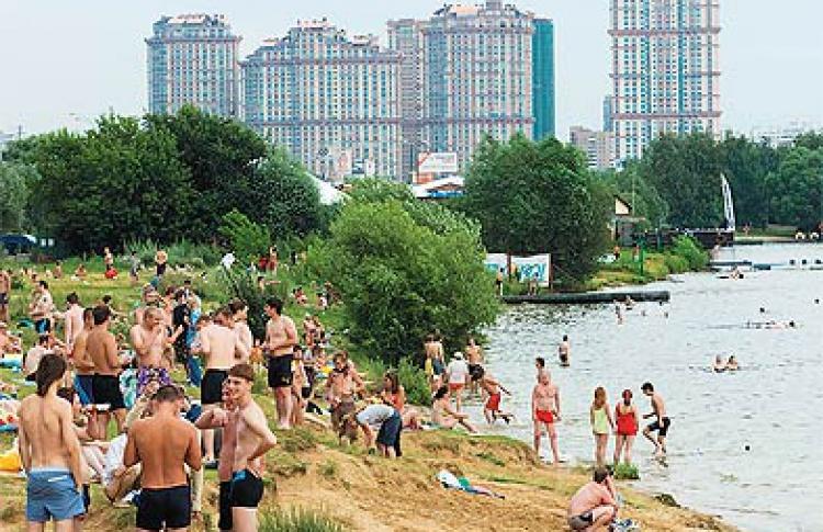 Пляжи Москвы: плюсы иминусы
