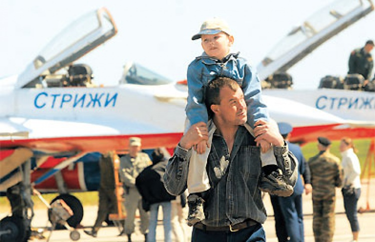 Авиасалон 2008