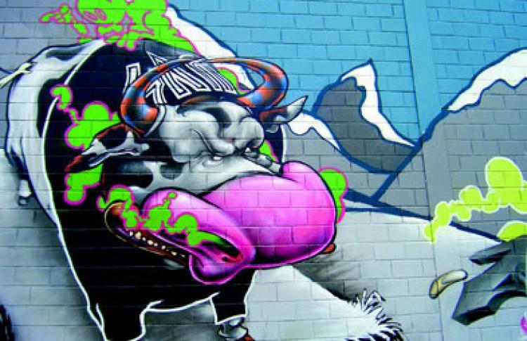 Международный фестиваль граффити