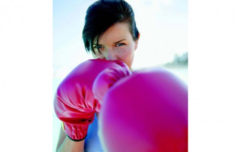 Бокс: девушки vs. мужчины