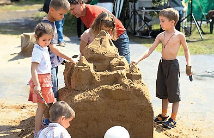 Конкурс песчаной скульптуры