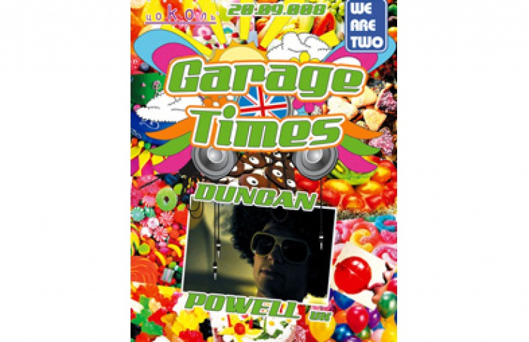 Garage Times Vol.3. DJs Duncan Powell (Великобритания, everything about uk garage), Timij (oldskoolhardcore), Leta (2step / garage 4х4), LK (old skool speed garage), Blasta dubstep), MC Tripple Trouble