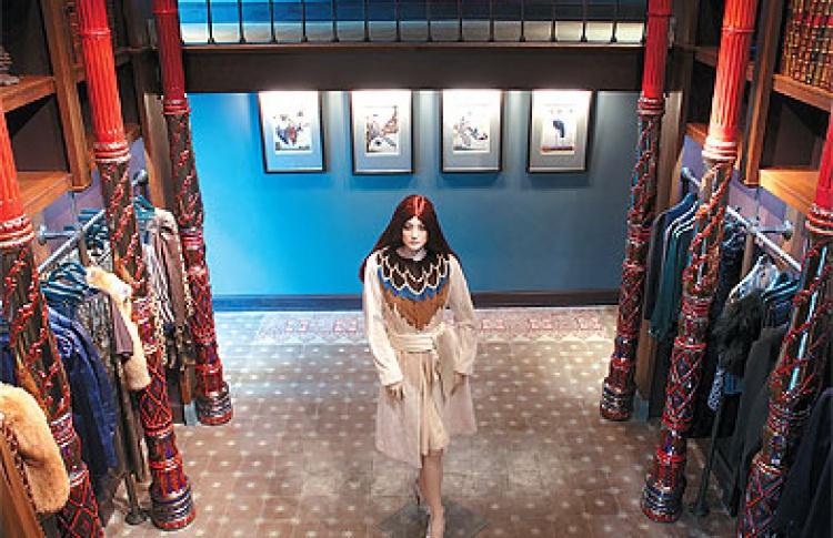 Alena Akhmadullina concept store №1