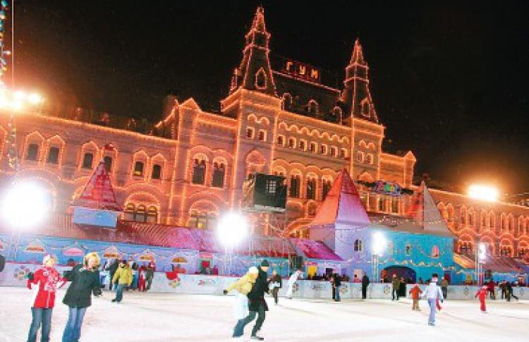 ГУМ-Каток наКрасной площади