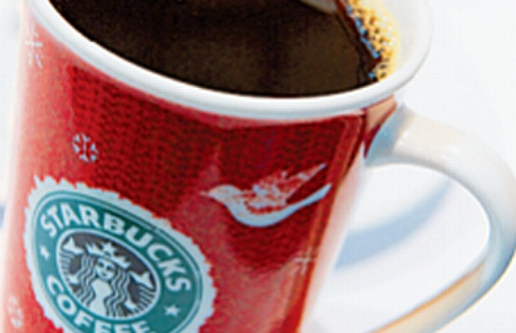 Новый год в Starbucks