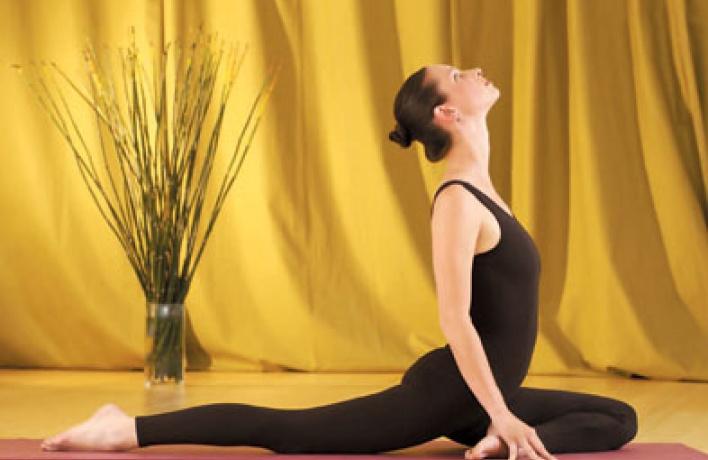 Где научат йоге