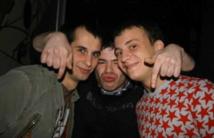 """""""Трио Party"""": DJs Тимур, Семенов, Золин"""