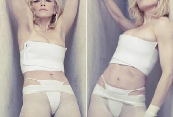 Мадонну погубили стринги - Фото №1