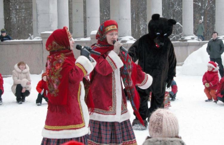 Масленица в Архангельском