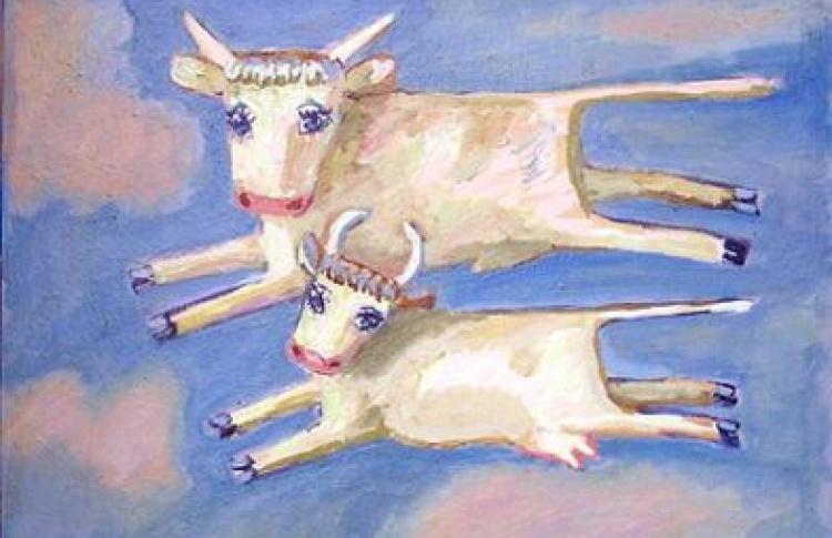 """Борис Серов """"Коровы, лошади ... и немного люди"""""""