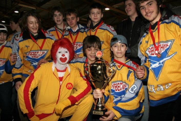 Мастер-класс со знаменитым хоккеистом Валерием Каменским