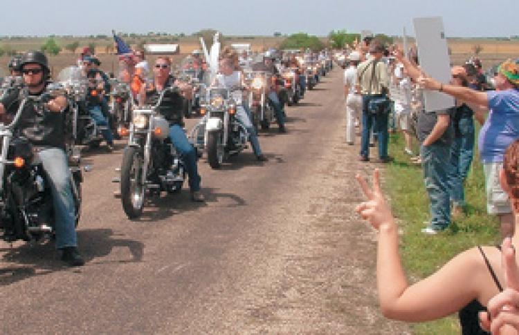 Harley-Davidson мотопробег