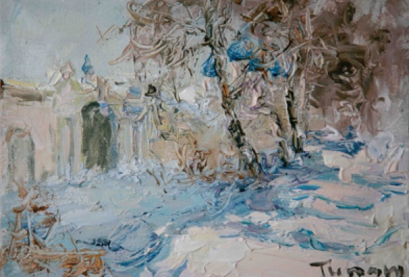"Туман Жумабаев ""Снег Древней Руси"" - Фото №1"
